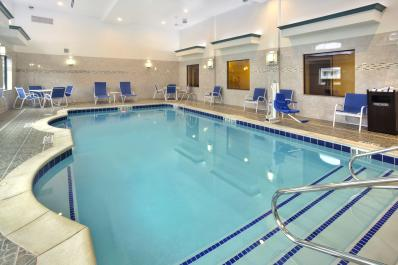 Enjoy our heated indoor pool!