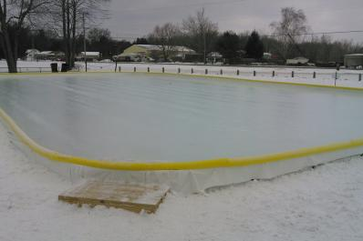 Ice Skating Rink from Marcie Post