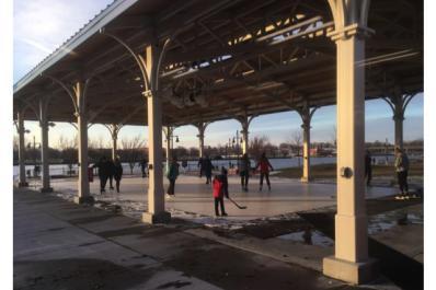 Nickless Family Community Pavilion winter