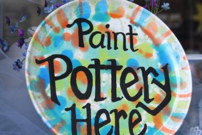 Painterly Pottery