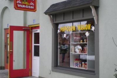 Popcorn Wagon store front