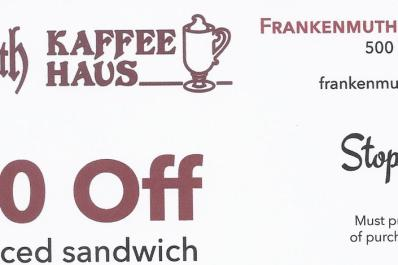 $1 Off any sandwich!!!