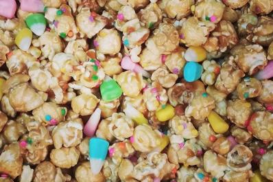 Easter popcorn