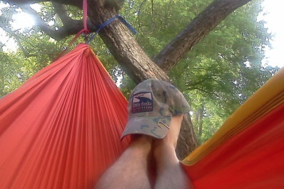 Hammock with hat