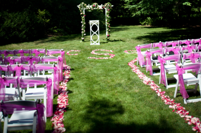 Dow Gardens Wedding
