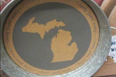 Michigan plate