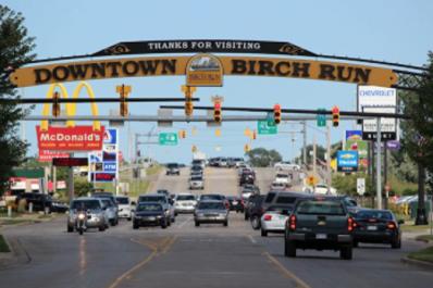 Downtown Birch Run