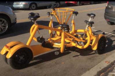 Sunrise Pedal Trolley 1