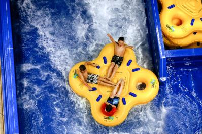 Four Person Family Raft Ride