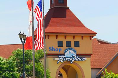 Frankenmuth River Place Shops Main St North Tower