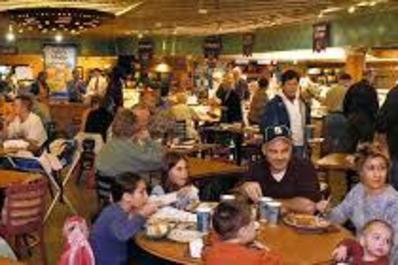scene at cafe