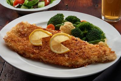 Parmesan Encrusted Whitefish