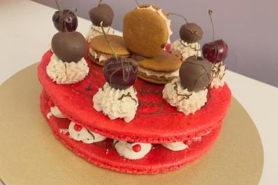 Chocolate Cherry Cake 2