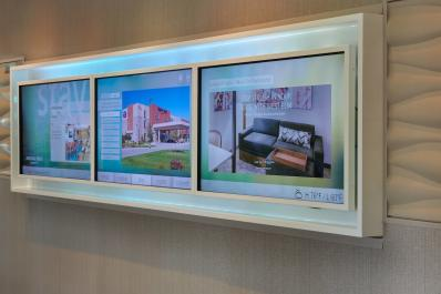 SpringHill Suites | Interactive Board