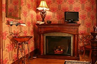 Webster House - fireplace