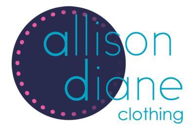 Allison Diane Clothing Logo