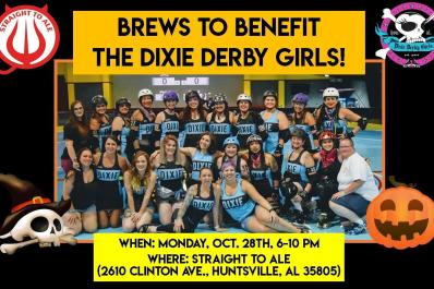 Christmas In Dixie Svg.Brews To Benefit The Dixie Derby Girls