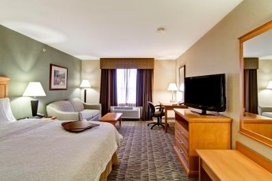 Hampton Inn Room with King Bed