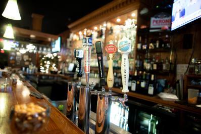 Alfredos Bar Area