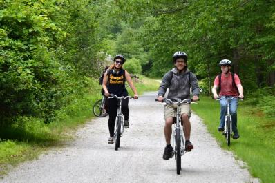 Rail/Trail Biking with Whitewater Challengers
