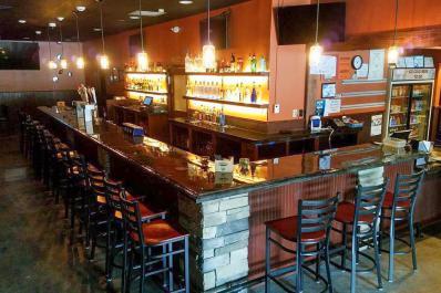 Dino & Francesco's bar area