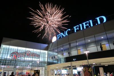 PNC Field w Fireworks