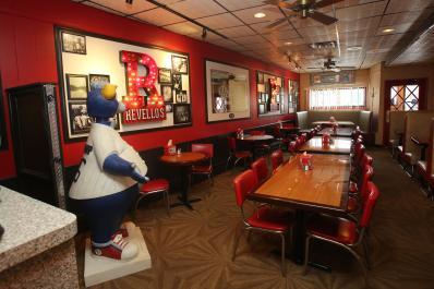 Revello's Dining Area