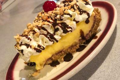 St George's Restaurant_Banana Spilt Pie