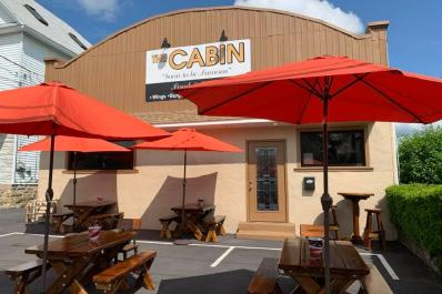The Cabin Bar and Grill Outdoor Dining