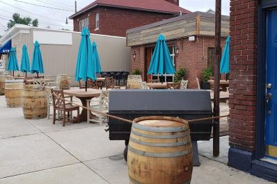 The Bar and Company outdoor dining