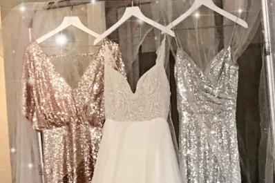 The Blushing Bridal Boutique dresses