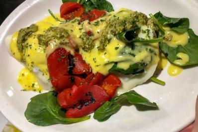 Coccetti's Restaurant Eggs Benedict