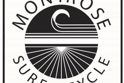 Montrose Surf and Cycle Logo