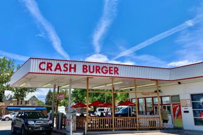 Exterior - Crash Burger