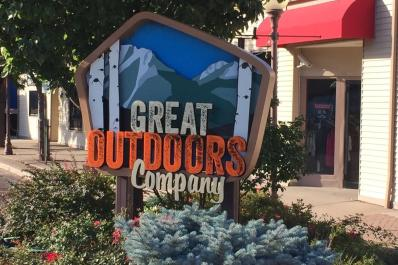 Great Outdoor Company Sign