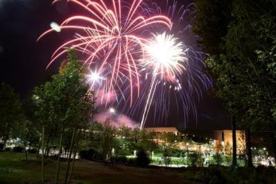 Bethel Woods Fireworks