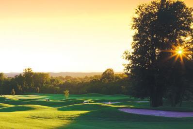 Black Bear Golf Club Sunset