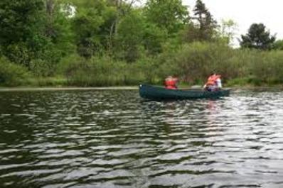 Camp Linwood MacDonald Canoe