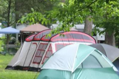 Delaware River Campground Tent Camping