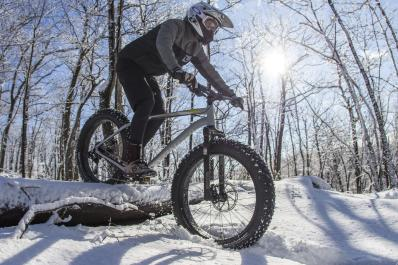 Fat Tire Biking in Winter