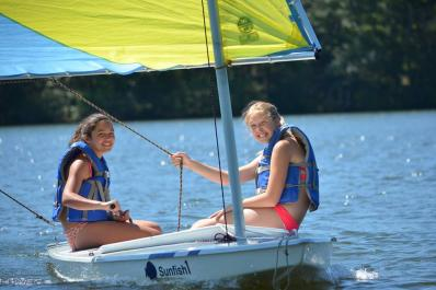 Fairview Lake YMCA Camp Boating