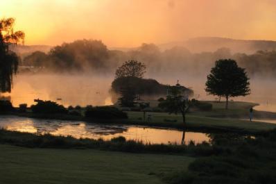 Farmstead Golf Misty Sunset