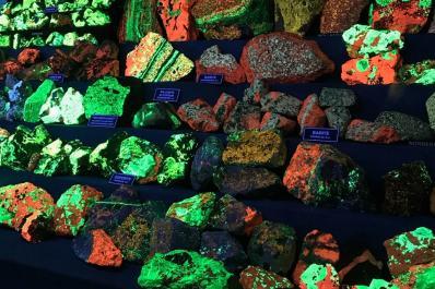 Franklin Mineral Museum Fluorescent