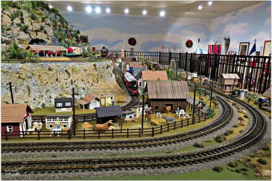 Friar Mountain Model Train