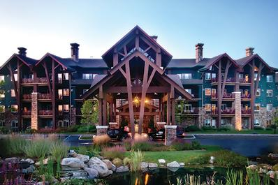 Grand Cascades Lodge Front View