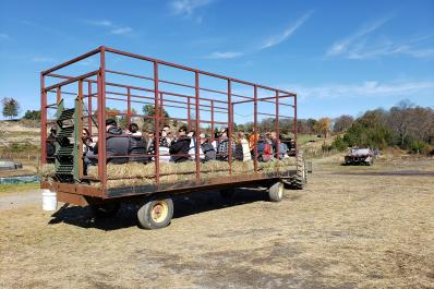 Ideal Farms Hay Wagon