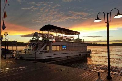 Lake Hopatcong Cruises Sunset