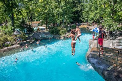 Mountain Creek Waterpark Free Jump
