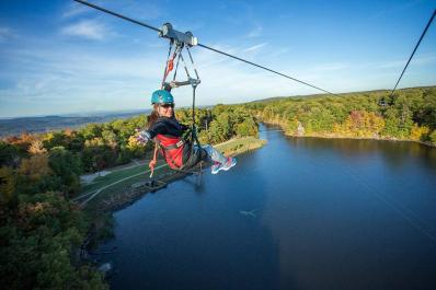 Mountain Creek Zip Tours Come With