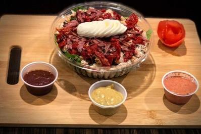 The Nutrition Store Bowl with sauces